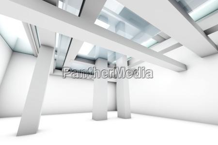 moderne rum interior mur stil af