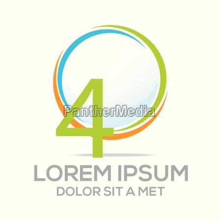 logo fire vektor nummer