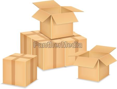 kasse aeske kiste pap karton
