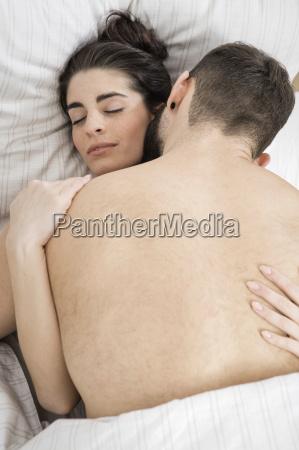 par at have sex i sengen
