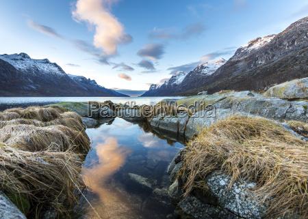norway troms esbjerg fjord