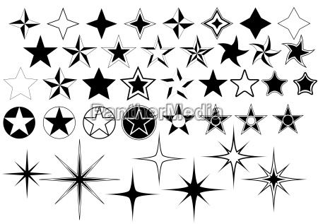 vector stars collection