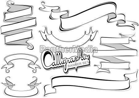 kalligrafi banner collection