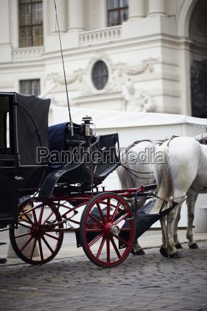 hestevogn til sightseeingtur wien Ostrig