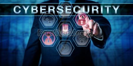 sikkerheds ingenior der skubber cybersikkerhed