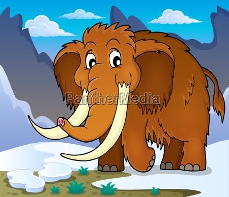 mammut tema billede 1