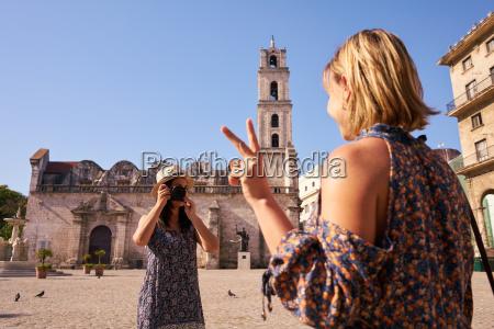female tourism in cuba women friends