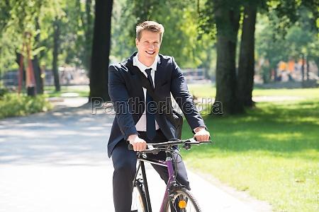 ridesport forretningsmand voksne cykel mand