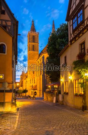 rothenburg ob der tauber church