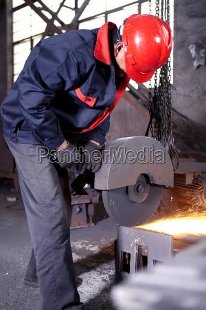 arbejde i stobejern stoberi