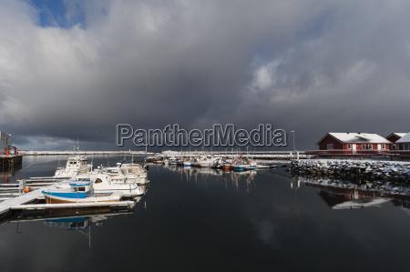 tur rejse vinter havn norge transport