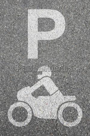 parkering motorcykel parkering motorcyklist vejtrafik