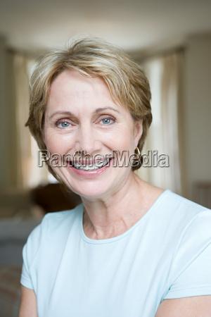 portrait of a senior adult woman