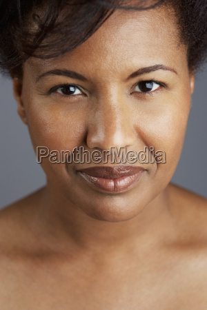 portrait of mid adult woman