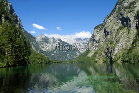 bjerge alper bayern ferskvand so vand