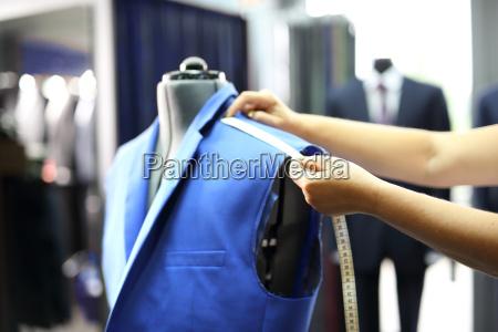 produktion skraeddersy maleband garniture syerske suit