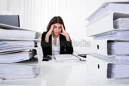 kvinde kontor karriere frist deadline termin