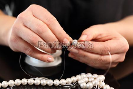 oprettelse af smykker trade perler