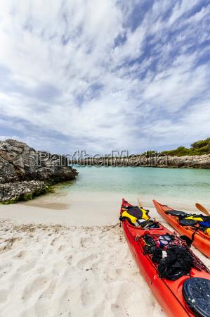 spain balearic islands menorca talaier beach