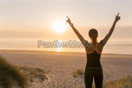 spain aviles young athlete woman enjoying
