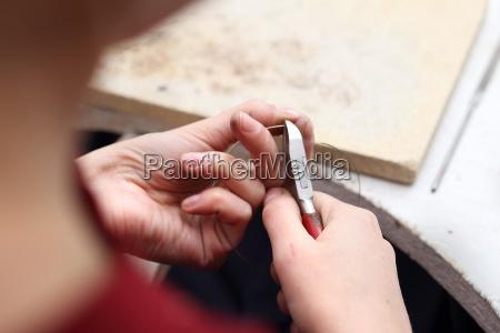 handlavede smykker lavet guldsmed smykker pa