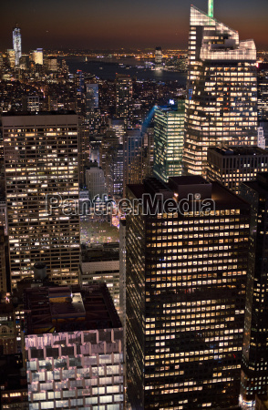 view from rockefeller centre manhattan new
