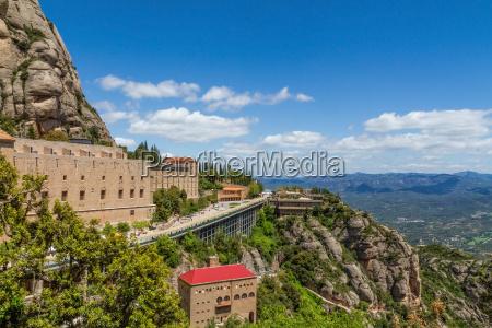 hojt bjerg omkring klosteret santa maria