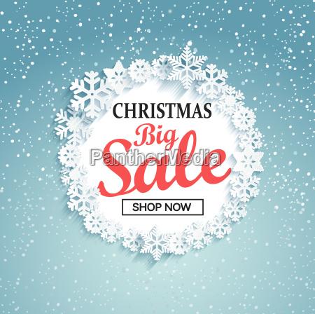 begrebet jul store salg vektor