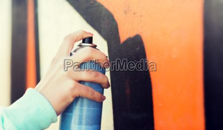naerbillede af hand tegne graffiti med