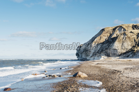 denmark north jutland coast at bulbjerg