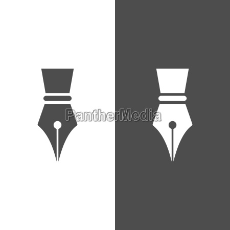 fontain pen ikon