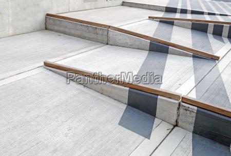 korestol rampe med rode lober for