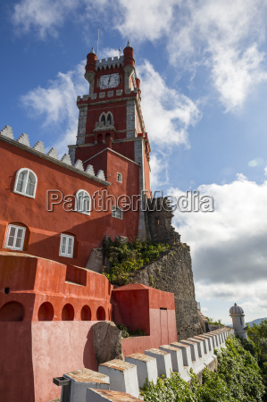 the colorful towers and architecture of