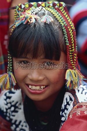 portraet af en pige af kalagan