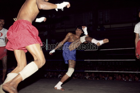burmesiske boksning ingen spark eller punches