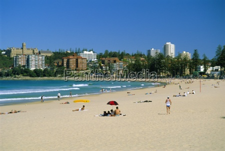 manly beach manly sydney new south