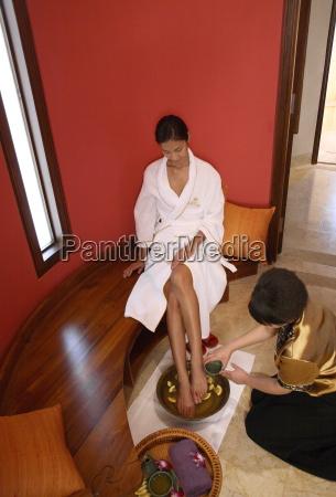 fodbad pa brilliant resort and spa