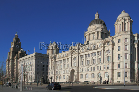 pierhead with liver building cunard building