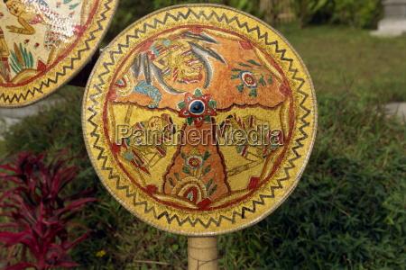 malet rattan besakih tempel bali indonesien