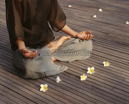 meditation i lotus position