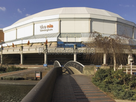 national indoor arena from the james