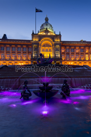 council house and victoria square at
