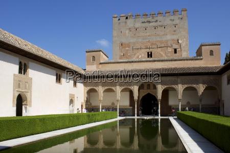 patio de los arrayanes og comares