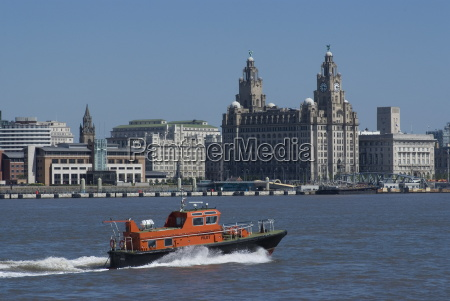 view of the liverpool skyline and