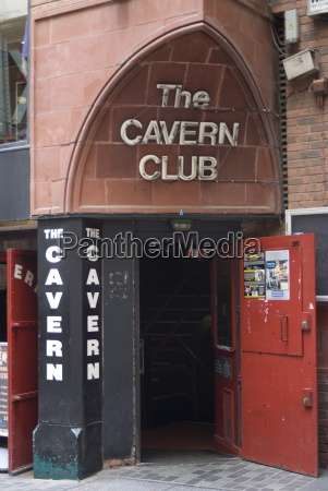 the cavern club matthew street liverpool