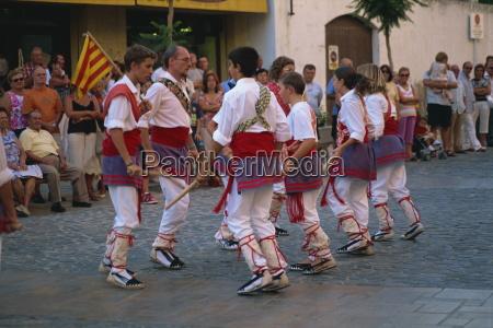 ball de bastons catalan stick dance