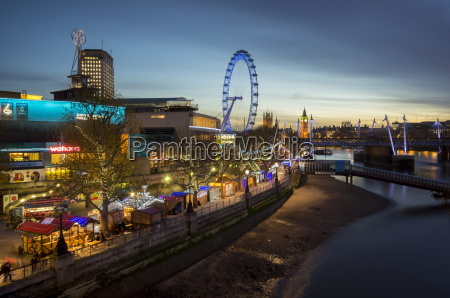 christmas market is on the south
