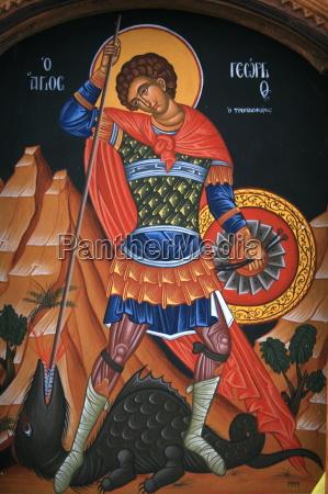 tur rejse religios troende kunst graekenland