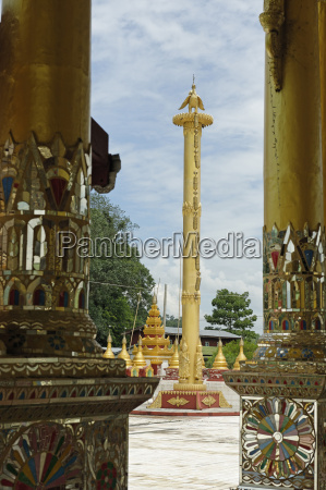 the bawgyo pagoda in thibaw hsipaw