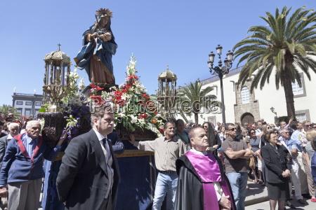 easter procession semana santa vegueta old